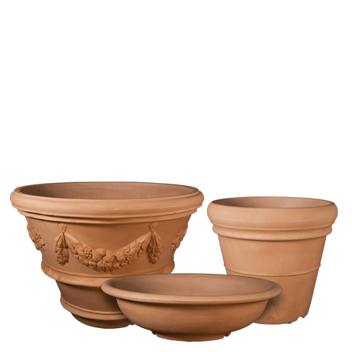Lightweight Poly Planters - Italian Terracotta Pottery
