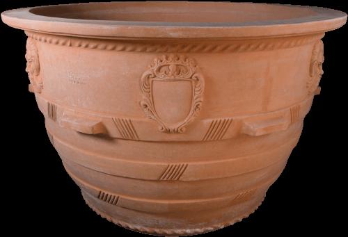 Conca Mascherone - Terra Cotta Planter